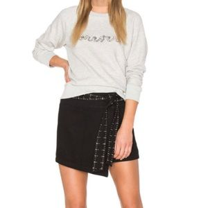 Paige x Rosie Valentine Stud Skirt